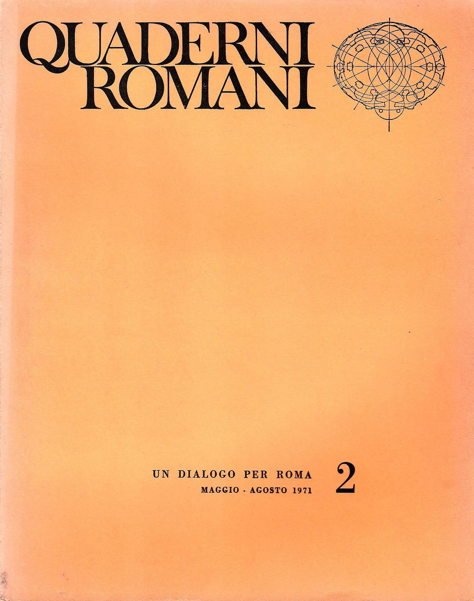 000 quaderni romani n2Copertina art abbate