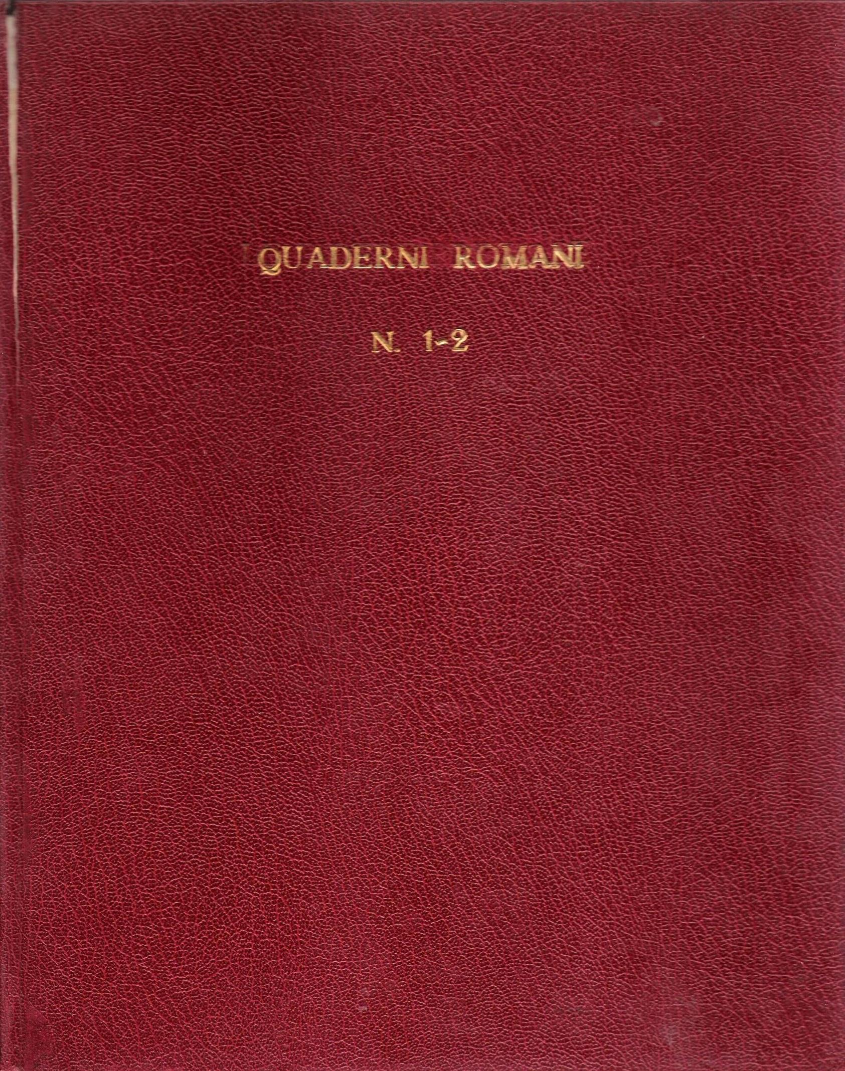 000 rivista quaderni romani1broshure art Abbate